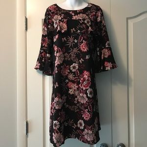 NWT Jessica Howard pink floral dress